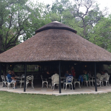 Their boma on the other hand, is like a small gazebo by the garden where breakfast and afternoon snacks are served.