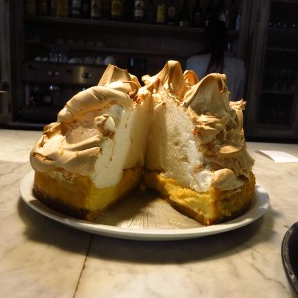 Cafe Bonbon's Signature Lemon Meringue Pie. Worth every calorie! Yum!