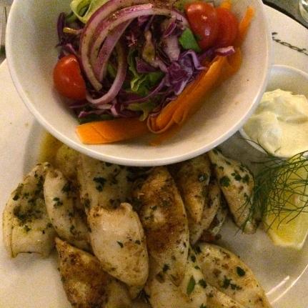 Balducci Calamari. The Calamari was so fresh and juicy. I liked that it was slightly crispy and salty.