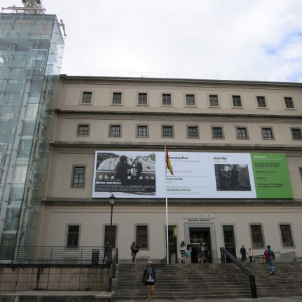 I so wanted to see the collections in Reina Sofia. It is often referred to as the MoMA of Madrid, in reference to NYC's renowned Museum of Modern Art. It houses one of Europe's finest collections of 20th century art and is an especially excellent place to explore the works of Spain's contemporary artists, including Joan Miró, Salvador Dali, and Pablo Picasso. One of Picasso's finest works, Guernica, can be found here.