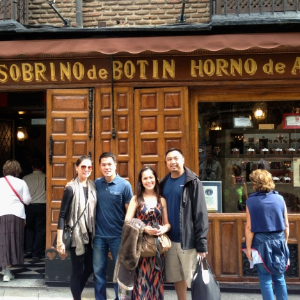 Listed by Guinness World Records as the world's oldest restaurant, Botin has been turning out impeccably roasted meats from its original Castilian-style cast iron wood burning oven since 1725 - nearly three centuries. Guests have ranged from Hemingway to the painter Goya to countless European royalty, and it remains very popular with visitors, locals and especially Spanish politicians.