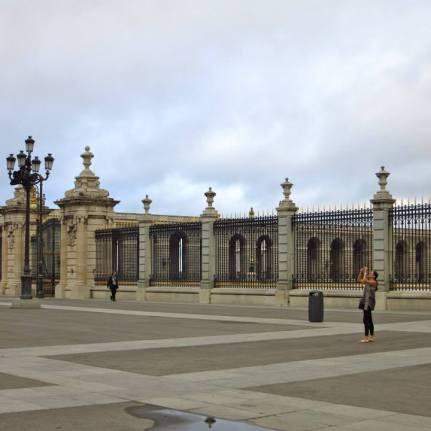 At Palacio Real De Madrid