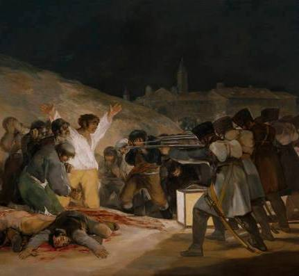 The Third of May: the Executions on Príncipe Pío by Goya.