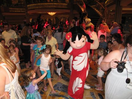 Kids just loved partying with the Disney Characters. There were so many activities to do around the ship. There were scavenger hunts, princess gatherings, magic workshops, family karaokes, game shows etc. It was really a good way to get the whole family together.