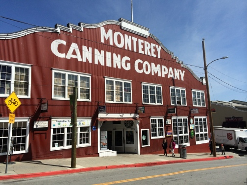 Cannery Row is the waterfront street in the New Monterey section of Monterey, California. It is the site of a number of now-defunct sardine canning factories.