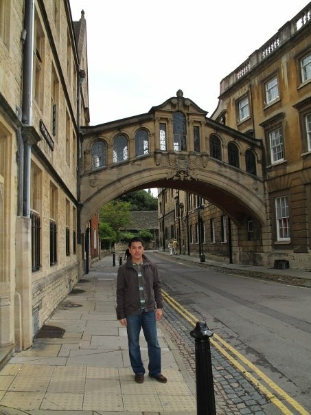 Hertford Bridge, popularly known as the Bridge of Sighs, is a skyway joining two parts of Hertford College over New College Lane