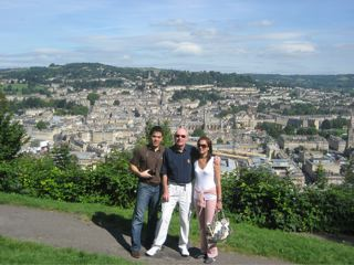 Scenic View of Bath from Alexandra Park