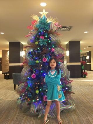Christmas Day at the Holiday Inn Waikiki Beachcomber