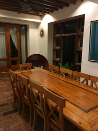 Nice exclusive dining area for families who would like to have their meals in private.