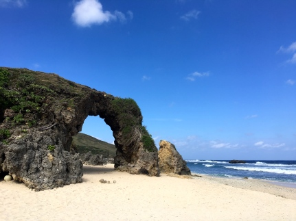 Of all the beaches fringing the coast of Sabtang Island, Morong Beach is probably the most well-known. Thanks to the large rocky arch that has become an icon not just of the island but Batanes as a whole. The natural formation is called Nakabuang Arch.