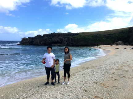The sand here is much fairer than other beaches in the province. The waves are also less ferocious - friendly enough for a swim. Bookmarked by grass-carpeted small hills, it is actually a pretty short stretch, you can walk from one end to the other in a matter of minutes.