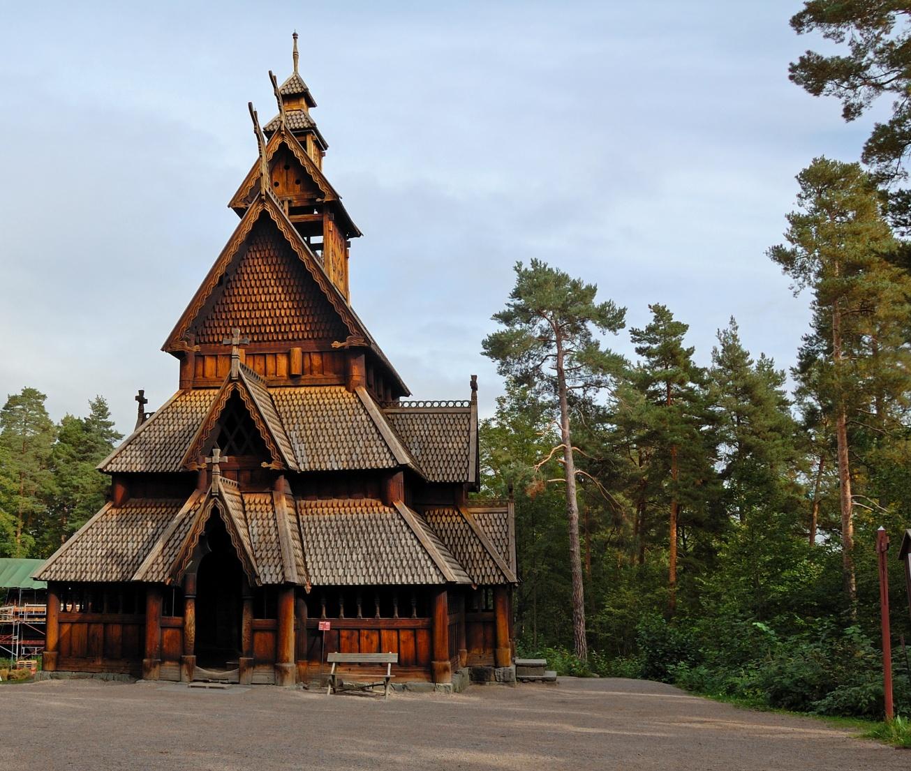 Stavkirke di Gol - Oslo