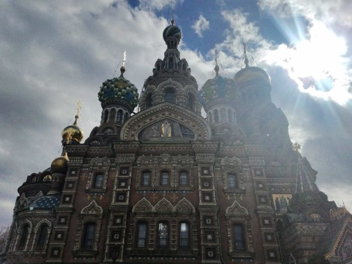 The iconic Church of the Savior on the Spilled Blood. This marvelous Russian-style church was built on the spot where Emperor Alexander II was assassinated in March 1881. After assuming power in 1855 in the wake of Russia's disastrous defeat in the Crimean war against Britain, France and Turkey, Alexander II initiated a number of reforms. In 1861 he freed the Russian serfs (peasants, who were almost enslaved to their owners) from their ties to their masters and undertook a rigorous program of military, judicial and urban reforms, never before attempted in Russia. However, during the second half of his reign Alexander II grew wary of the dangers of his system of reforms, having only barely survived a series of attempts on his life, including an explosion in the Winter Palace and the derailment of a train. Alexander II was finally assassinated in 1881 by a group of revolutionaries, who threw a bomb at his royal carriage. Both the interior and exterior of the church is decorated with incredibly detailed mosaics, designed and created by the most prominent Russian artists of the day.