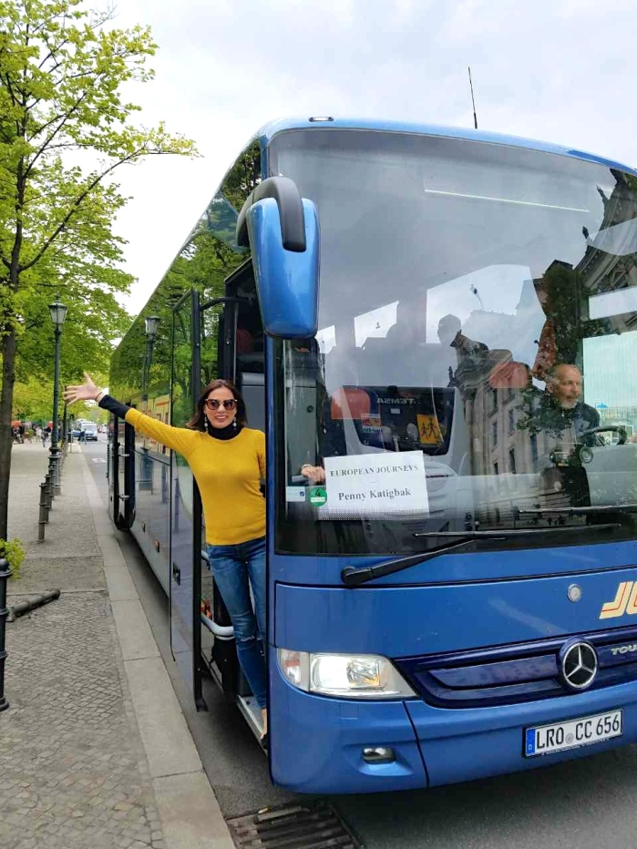 Our group of 30 rented our own bus to breeze in and out of the city.