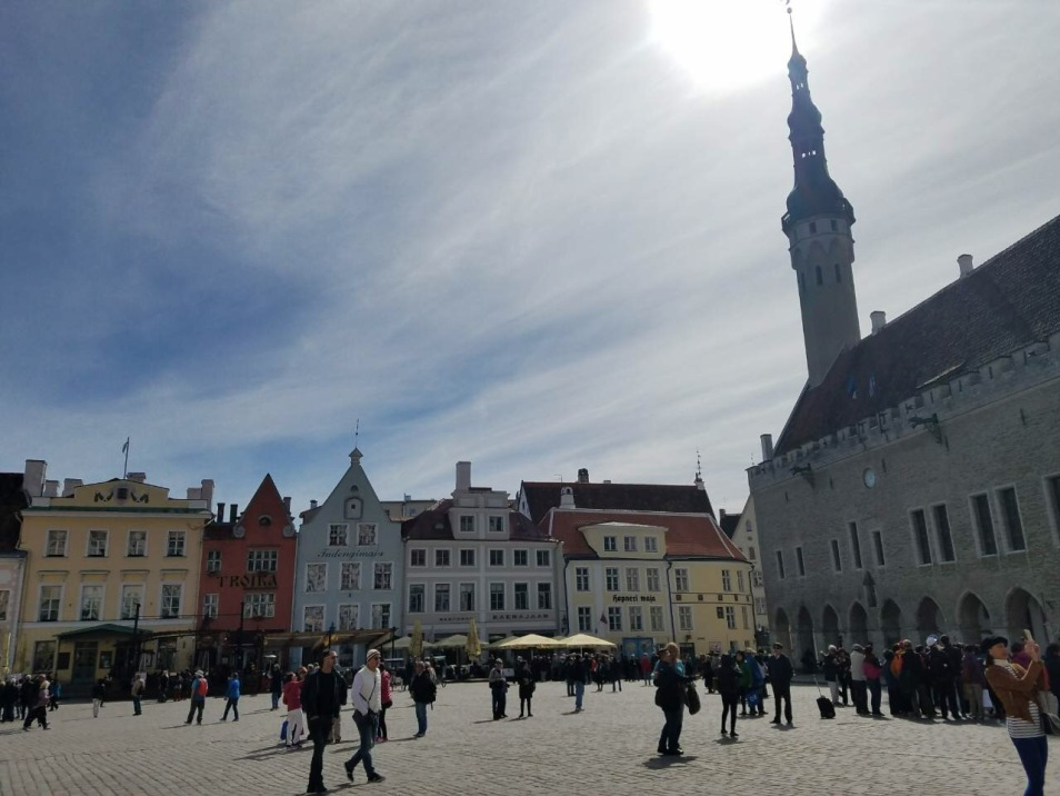 Town Hall Square is reminiscent of pages from a children's fairytale book.