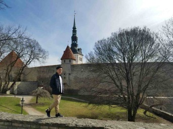 Toompea castle was an ancient stronghold site in use since at least the 9th century. Today, it houses the Parliament of Estonia.