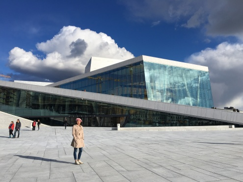 """The Norwegian nature is free for everyone to walk in, and The Oslo Opera House, which opened in 2008, was built as an extension to this idea. Usually, you are reprimanded to walk on rooftops. This new building in the very epicentre of Oslo feels like the complete opposite of the usual """"Please don't touch"""" culture tourists are often met with worldwide."""