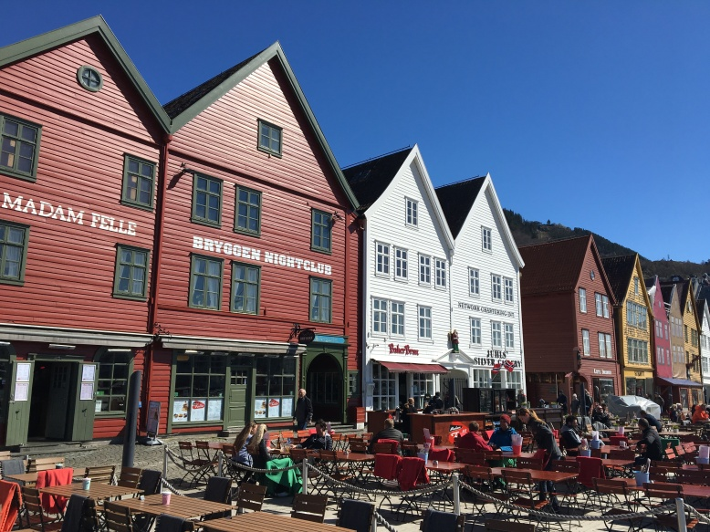 The Hanseatic Wharf in Bergen is one of the city's iconic sights. It may be true that only one of the buildings actually dates back to the 1700's and the rest of them were re-built in more recent years, but the place still leaves you in awe especially when you walk through the interiors.