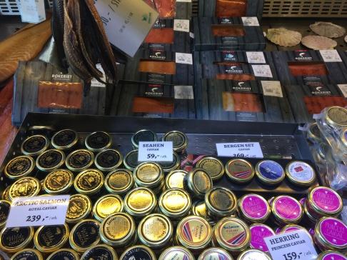 Ooohhh! Caviar delights!