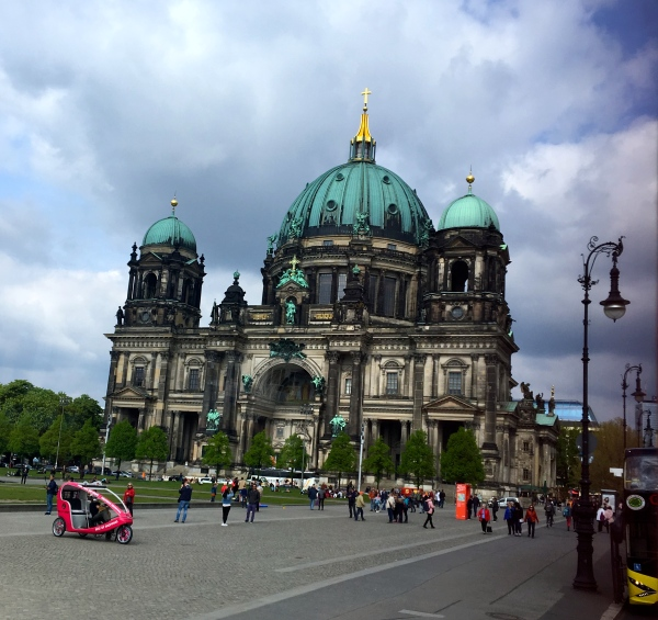 Berlin Cathedral (Berliner Dom), completed in 1905, is Berlin's largest and most important Protestant church as well as the sepulchre of the Prussian Hohenzollern dynasty. This outstanding high-renaissance baroque monument has linked the Hohenzollerns to German Protestantism for centuries and undergone renewed phases of architectural renovation since the Middle Ages. First built in 1465 as a parish church on the Spree River it was only finally completed in 1905 under the last German Kaiser -Wilhelm II. Damaged during the Second World War it remained closed during the GDR years and reopened after restoration in 1993. Berlin Cathedral contains the tombs of members of the House of Hohenzollern - Known as the Hohenzollern family tomb, over ninety sarcophagi and tombs are on display including those of the Prussian Kings – Friedrich I and Sophie Charlotte, by Andreas Schlüter, impressively cast in gold-plated tin and lead. Other important works of art are the baptismal font by Christian Daniel Rauch and the Petrus mosaic by Guido Reni. The Dome's organ with over 7000 pipes is a masterpiece and one of the largest in Germany. A visit to the Dome requires climbing 270 steps but the viewing gallery is worth it for great views of Mitte. The 114m-high Dome is sided by four towers and the interior is rich with New Testament and Reformation period elements.