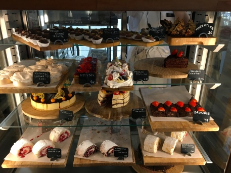 Those decadent desserts in Cafe Maiasmokk - oldest cafe in Estonia.
