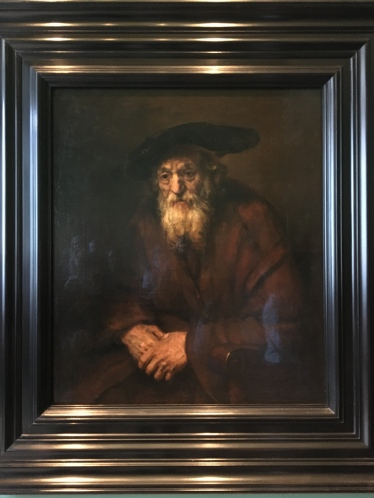 Portrait of an Old Man by Rembrandt