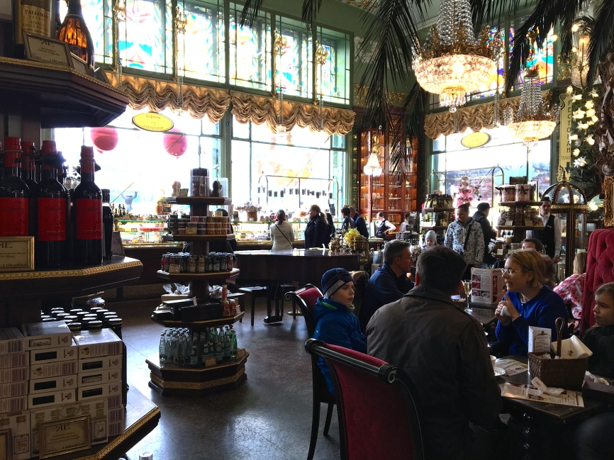 The Cafe is an ideal place to enjoy the ambiance and typical Russian treats.
