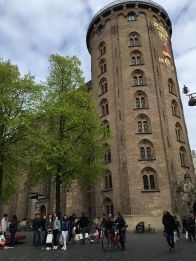 The Rundetaarn, or Round Tower, is a 17th-century tower located in central Copenhagen. One of the many architectural projects of Christian IV, it was built as an astronomical observatory.