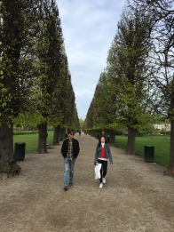 At the King's Garden.